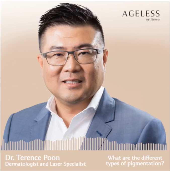Dr Terence Poon interviewed of Ageless by Rescu podcast